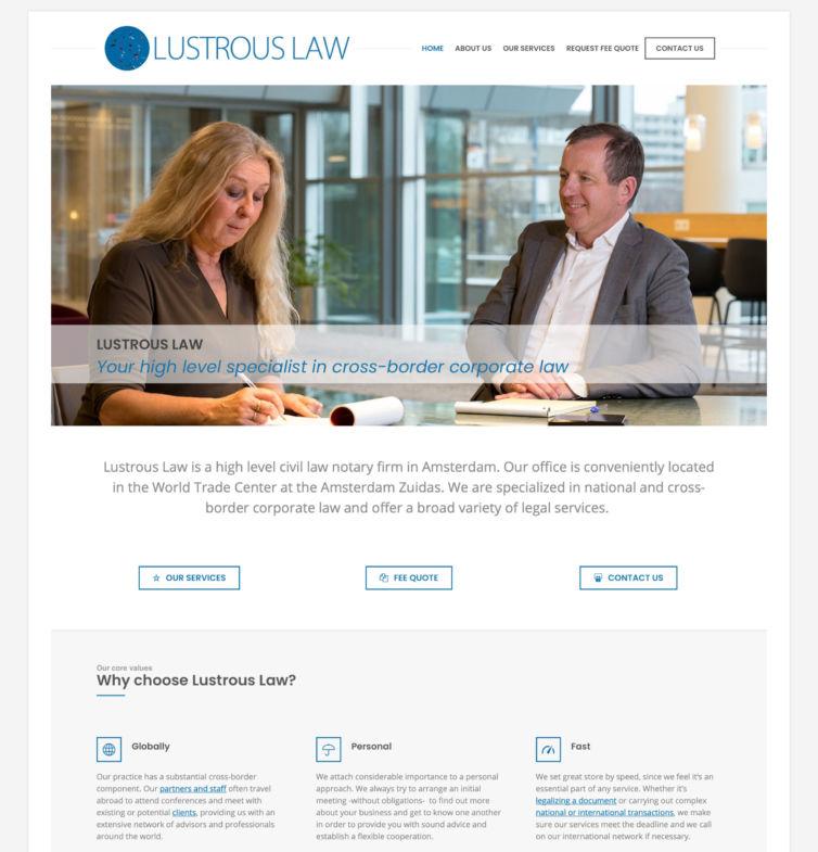 Lustrous Law